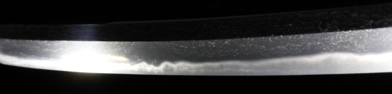 堀川国安の刀・7差表側刃紋