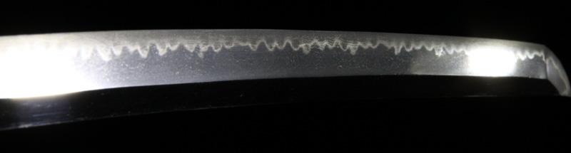 因州兼次の刀・7差表側刃紋