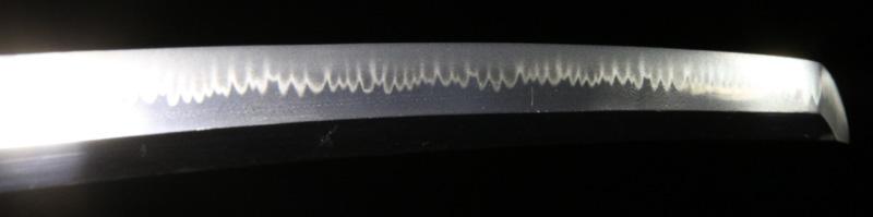 高橋長信の刀・7差表側刃紋