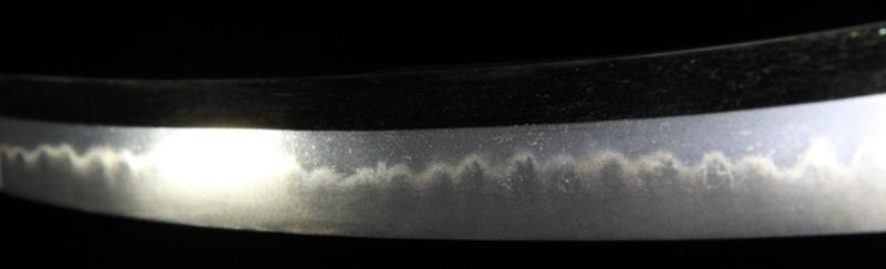 摂津守忠行の刀・差表側刃紋