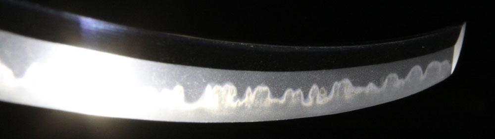 河内守正広の刀・差表側刃紋