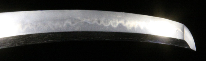 包次の刀・6差表側刃紋