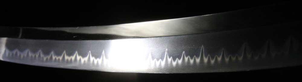 小島兼則の刃紋拡大