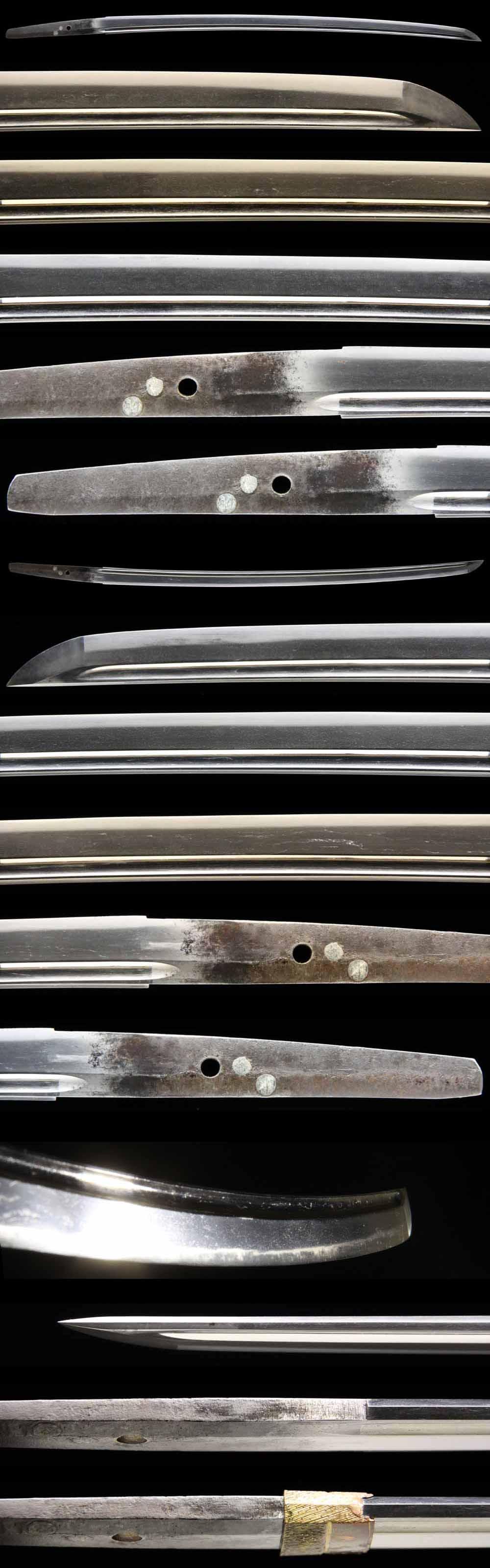 日本刀・高田統行の刀身