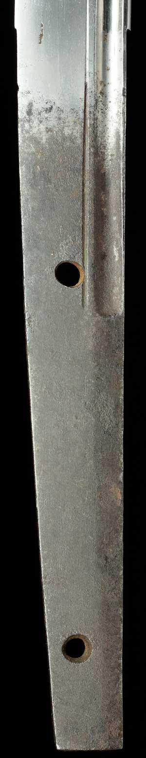 波平刀の中心写真