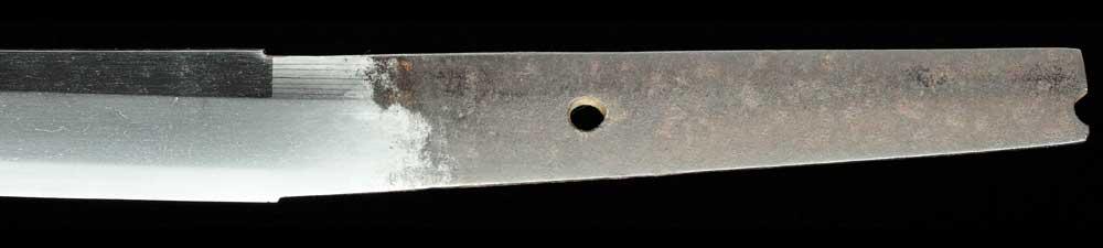 伝末手掻の刀身表拡大4