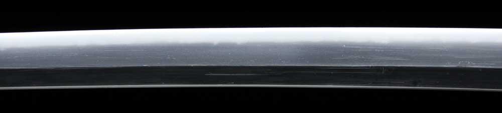 日本刀・靖憲の刀身表拡大2