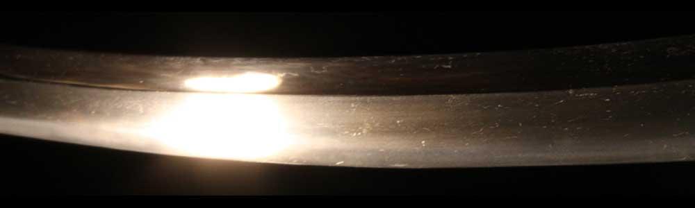 無銘古刀の刃紋