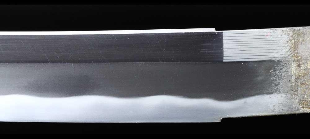日本刀・藤原義正の刀身表拡大7