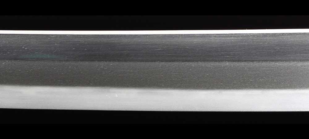 日本刀・二唐義信の刀身表拡大2