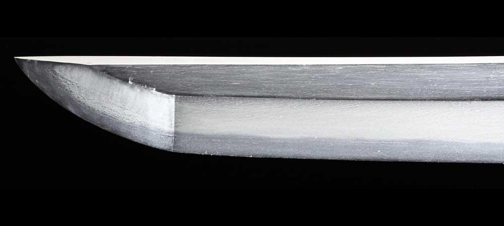 日本刀・無銘新々刀の刀身表拡大1