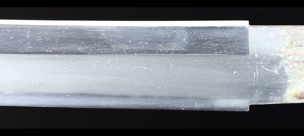 日本刀・無銘新々刀の刀身表拡大7