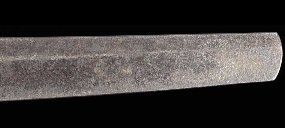 日本刀・無銘新々刀の刀身表拡大9
