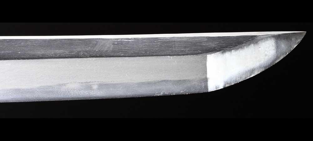 日本刀・無銘新々刀の刀身裏拡大1