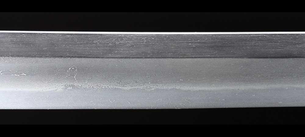 日本刀・一原長光の刀身表拡大2