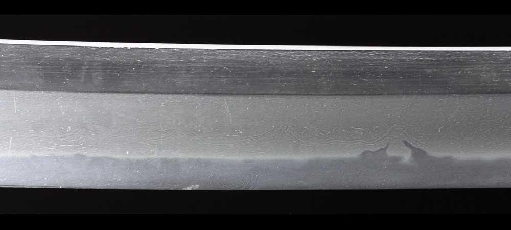 日本刀・一原長光の刀身表拡大4