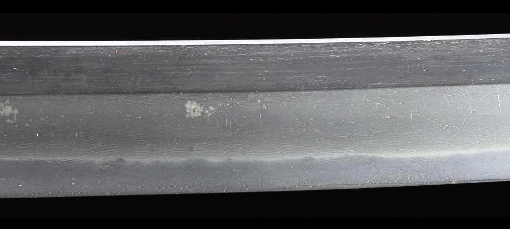 日本刀・一原長光の刀身表拡大5