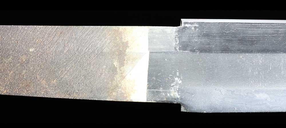 日本刀・一原長光の刀身表拡大7