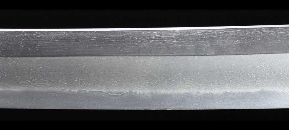日本刀・一原長光の刀身裏拡大4