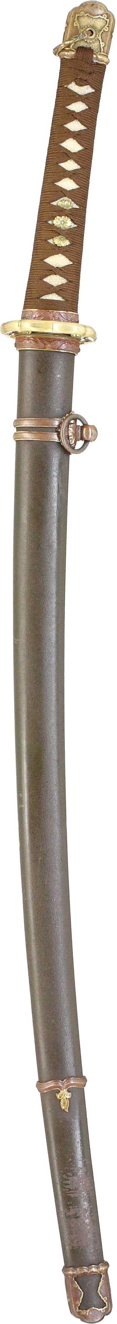 九八式軍刀拵え縦表
