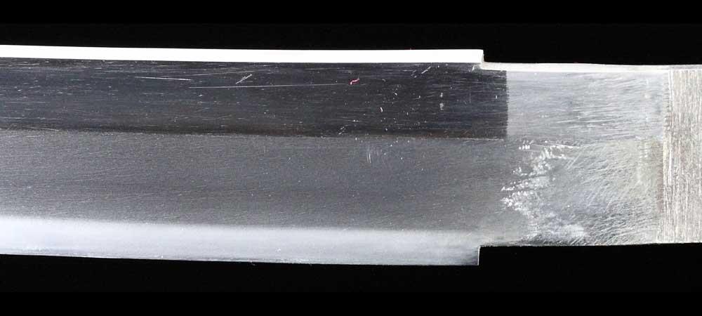 日本刀・無銘の刀身表拡大7