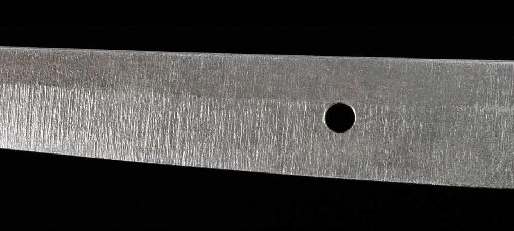 日本刀・無銘の刀身裏拡大8