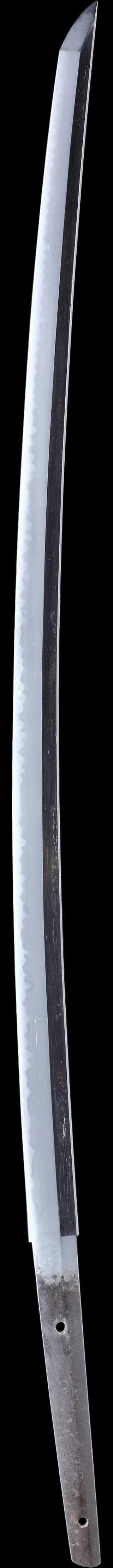 日本刀・末古刀の刀身縦表全景