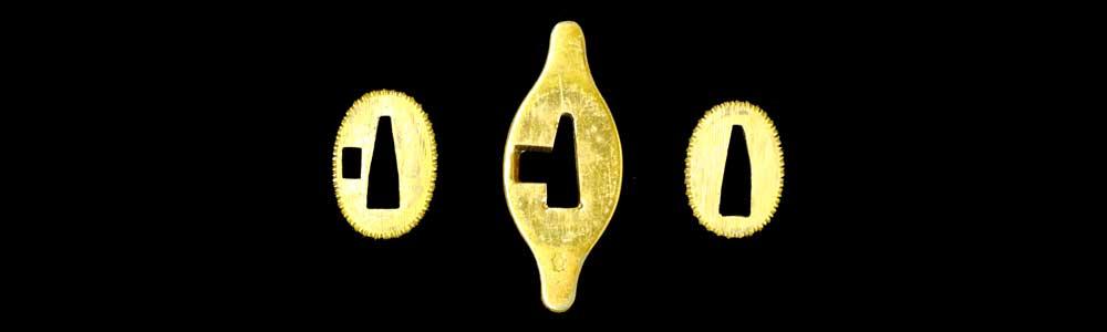 短剣拵えの鍔