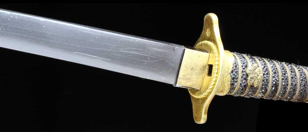 短剣拵えの柄裏