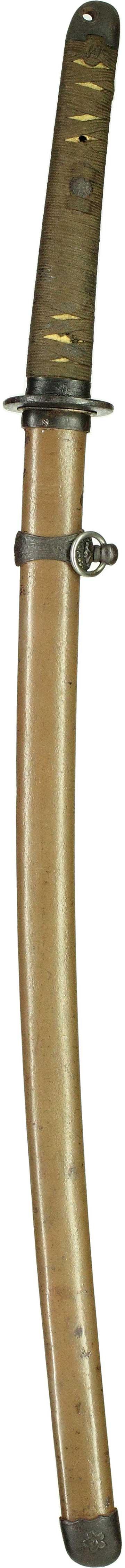 三式軍刀拵え表縦全景