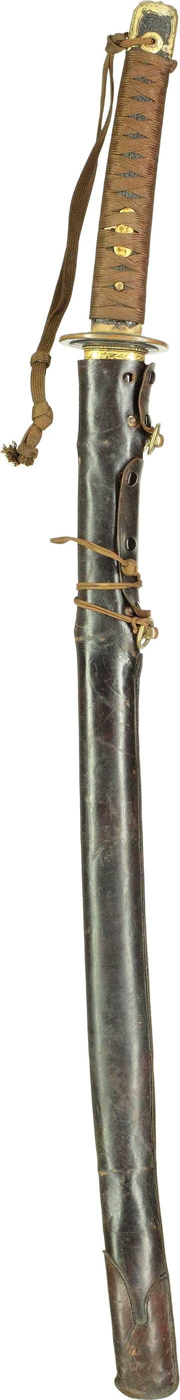 海軍軍刀拵え表縦全景