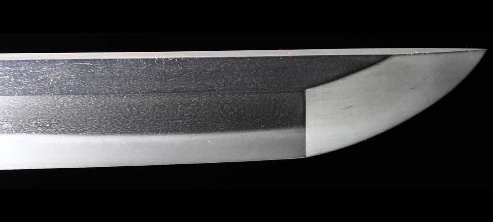 日本刀・佐々木一峯の刀身裏1