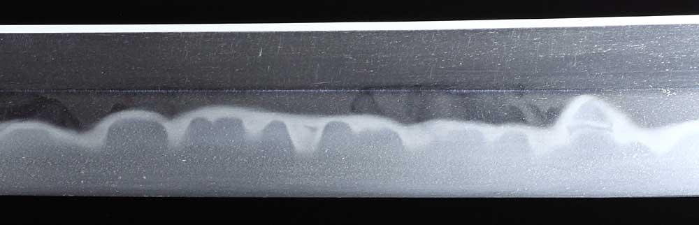 日本刀・固山宗平の刀身表拡大2