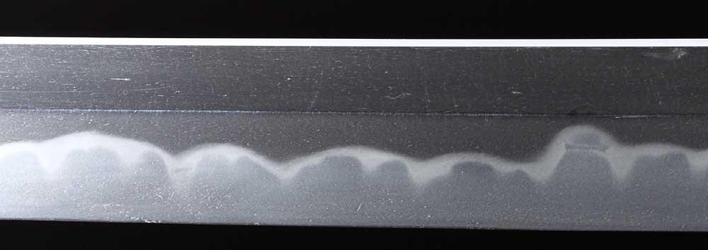 日本刀・固山宗平の刀身表拡大3
