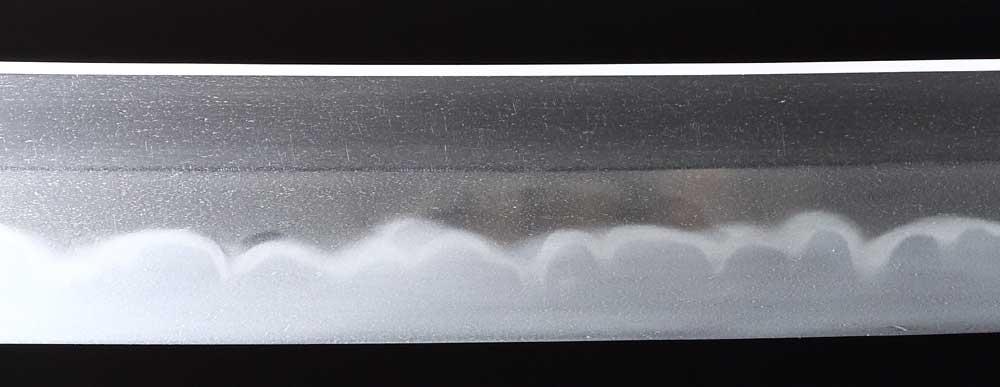 日本刀・固山宗平の刀身裏拡大4