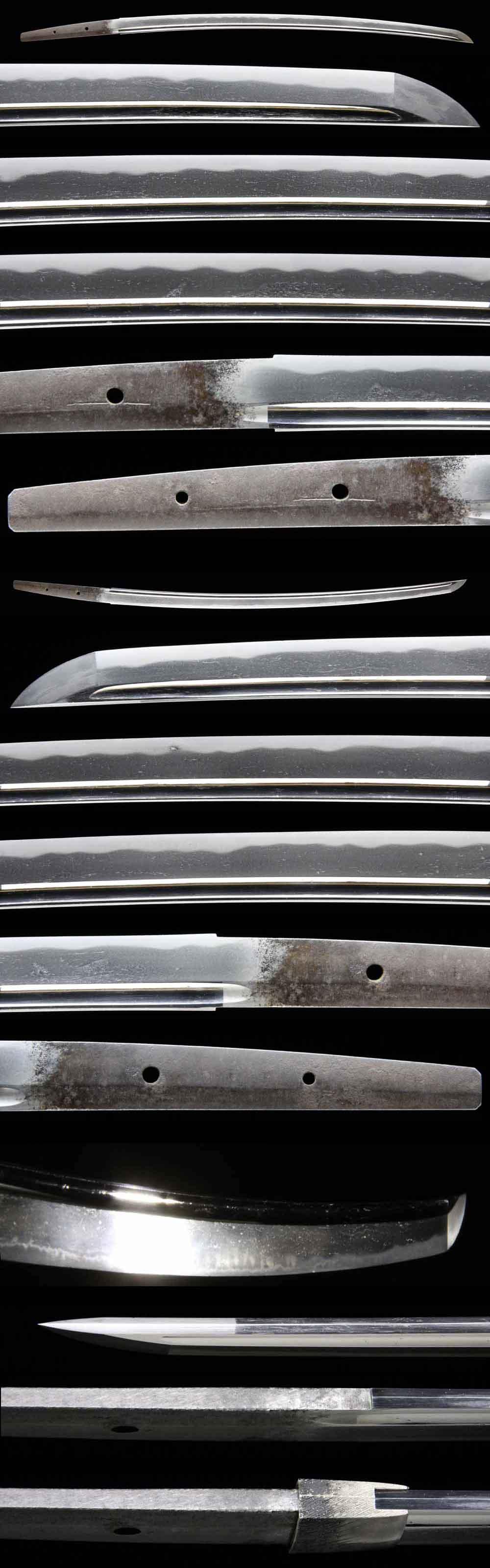 日本刀・金剛兵衛盛吉の刀身