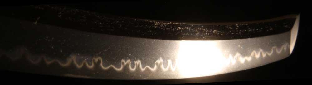 日本刀・貞次の刃文