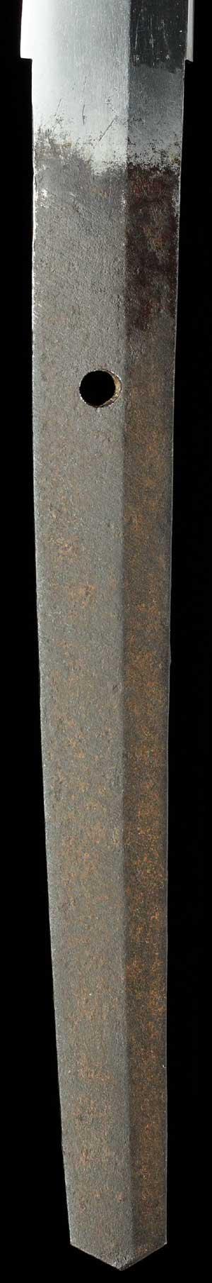 肥前刀の茎写真